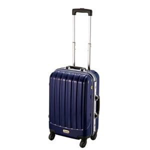 【送料無料】キャプテンスタッグ(CAPTAIN STAG) トラベルスーツケース(TSAロック付きハードフレームタイプ) S ネイビー MT-3552
