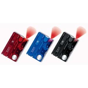 VICTORINOX(ビクトリノックス) 【国内正規品】 スイスカードライトT3 BK T/トランスルーセントブラック 07333T3
