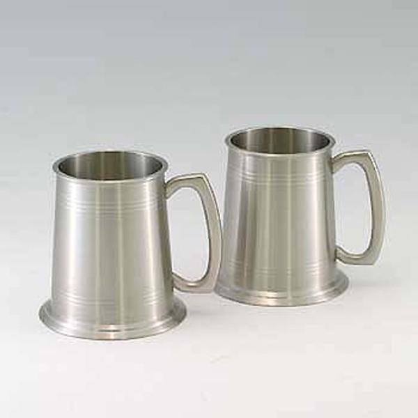 ROYAL KINNGS(ロイヤルキングス) ロイヤルキングスピュター ビアマグ KB56ペア KB56ペア ステンレス製マグカップ