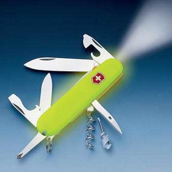 VICTORINOX(ビクトリノックス) 【国内正規品】 スパルタンライト ステイグロウ 37804808 ライト付きツールナイフ