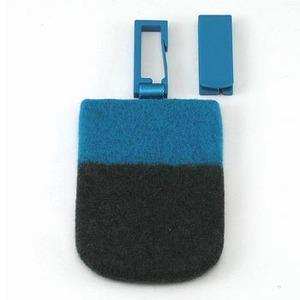 ABITAX(アビタックス) Pocket L ターコイズ&チャコールグレー