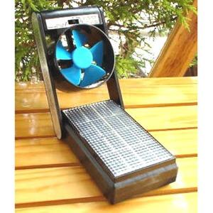 ナチュラルスカイ ソーラー ミニ 扇風機(充電器付き ...