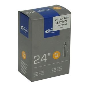 SCHWALBE(シュワルベ) 【正規品】チューブ 24インチ 英式バルブ 24x1.50/2.50 10DV