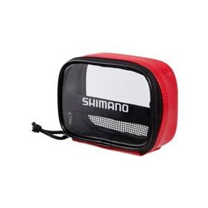 シマノ(SHIMANO) シマノ フルオープンポーチ PC-023I レッド