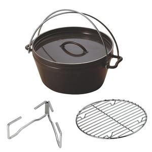 ダッチオーブン 10インチスーパーデイープ
