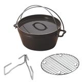 ユニフレーム(UNIFLAME) ダッチオーブン 10インチスーパーデイープ 660973 ダッチオーブン