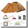 キャンプ道具 2ルーム