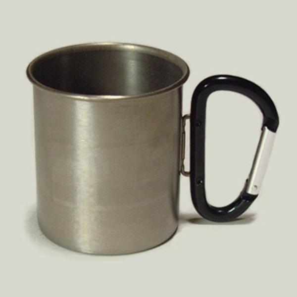 ZEST カラビナ付・チタンマグカップ SA018-BK チタン製マグカップ