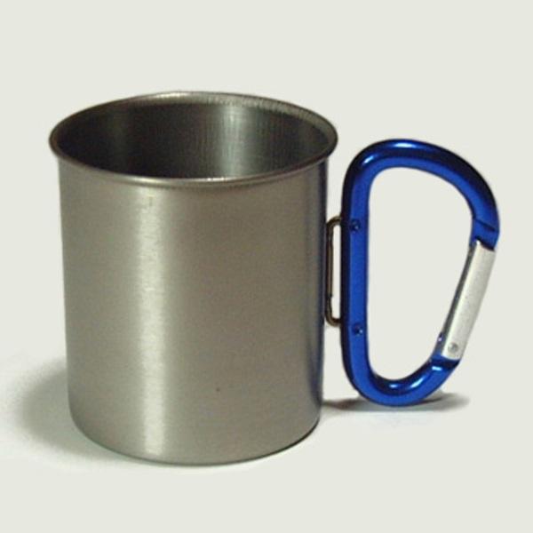 ZEST カラビナ付・チタンマグカップ SA018-BL チタン製マグカップ