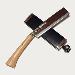 ZEST 土佐是寿刀作白紙鍛造角鉈