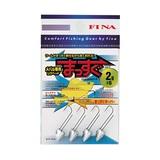 ハヤブサ(Hayabusa) メバル専用ジグヘッドまっすぐ FS200 ワームフック(ライトソルト用)