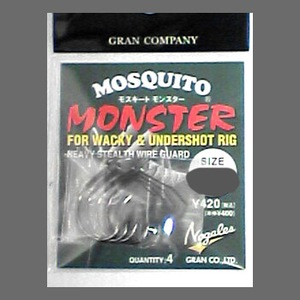 モーリス(MORRIS) GRAN Nogales MOSQUITO MONSTER #4/0 NSブラック 4513498034120