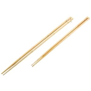 キャプテンスタッグ(CAPTAIN STAG) 竹製バーベキュー菜箸 2膳セット M-6624