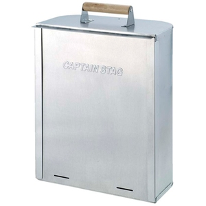 キャプテンスタッグ(CAPTAIN STAG) デリカ ステンレス角型スモーカー M-6508