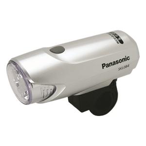 <ナチュラム> 18%OFF パナソニック(Panasonic) Panasonic ワイドパワーLEDスポーツライト「SKL084/前照灯」 シルバー YD-634