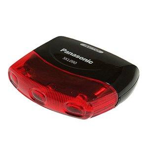 パナソニック(Panasonic) Panasonic LEDかしこいテールライト「SKL090」 ブラック YD-640