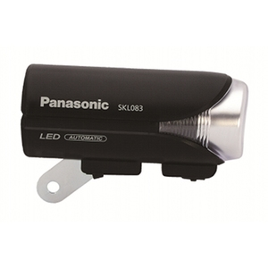 パナソニック(Panasonic) Panasonic ワイドパワーLEDかしこいランプV2「SKL083/前照灯」 ブラック YD-631