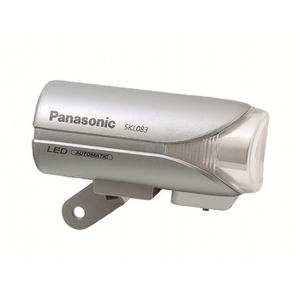 <ナチュラム> 15%OFF パナソニック(Panasonic) Panasonic ワイドパワーLEDかしこいランプV2「SKL083/前照灯」 シルバー YD-632