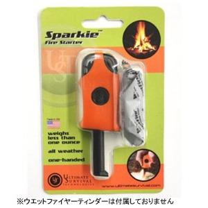 Ultimate Survival(アルティメイト サバイバル) スパーキーファイヤースターター オレンジ 00012252
