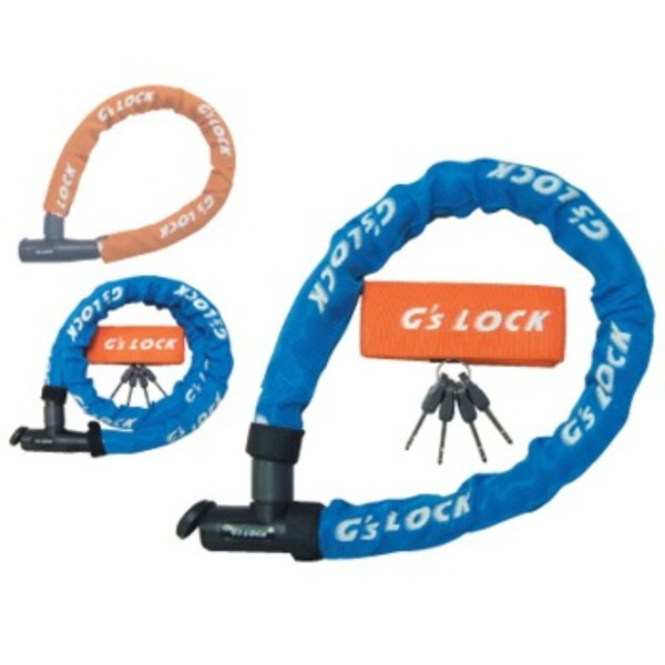Wizard(ウィザード) GS1-700 シリンダー式ワイヤー錠 鍵・ロック