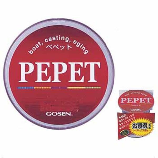 ゴーセン(GOSEN) PEPET(ペペット) 300m GB-123 オールラウンドPEライン
