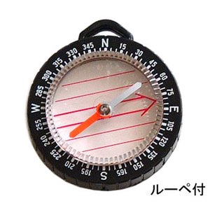 YCM(ワイシーエム) ルーペ付 マップコンパス YCM製 NO.888