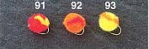 オーナー針 サスペンドエッグ NP-9112 #12 91レッド