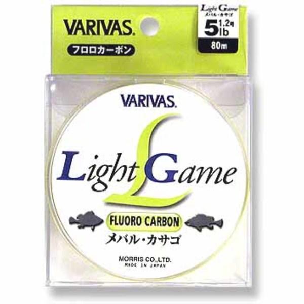 モーリス(MORRIS) バリバス ライトゲーム フロロカーボン 80m ライトゲーム用フロロライン