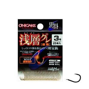 ハヤブサ(Hayabusa) 鬼掛 浅層グレ 速掛 3号 イブシ茶 B822D1