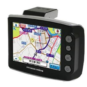 Hyundai-Index(ヒュンダイインデックス) 3.5インチ ポータブルナビ(2GB、BT付) 3.5インチ