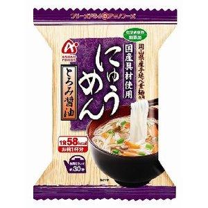 アマノフーズ(AMANO FOODS) にゅうめんとろみ醤油 4袋入 74221 スープ
