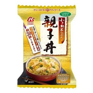 【クリックで詳細表示】アマノフーズ(AMANO FOODS)小さめどんぶり 親子丼 4食入り