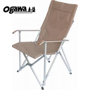【送料無料】小川キャンパル(OGAWA CAMPAL) ハイバックチェア 80 モカブラウン 1905