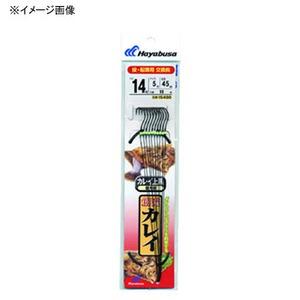 ハヤブサ(Hayabusa) 創流 カレイ カレイ上黒 黒エステル 鈎12/ハリス4 上黒 IS400