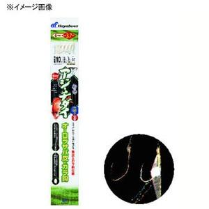 ハヤブサ(Hayabusa) 船極アジ・チダイ オーロラサバ皮&カラ鈎 鈎13/ハリス5 金 SD450