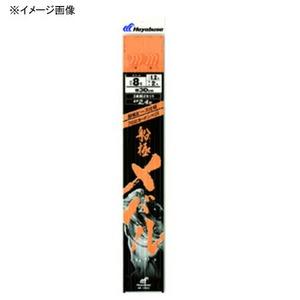 ハヤブサ(Hayabusa) 船極メバル 枝30cm回転ビーズ3本鈎2セット 鈎7/ハリス1 白 SD605