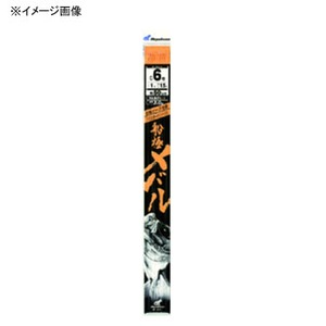 ハヤブサ(Hayabusa) 船極メバル 枝50cm回転ビーズ3本鈎2セット SD607
