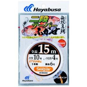 ハヤブサ(Hayabusa) 無双真鯛 二段テーパーふかせ1本鈎 SE204 仕掛け