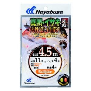 ハヤブサ(Hayabusa) 海戦天秤流し 真鯛・イサキ 3本鈎 SE264 仕掛け