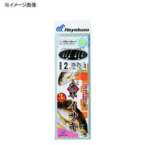 ハヤブサ(Hayabusa) 海戦イサキ チヌ針 3本針2セット SE370-2-2 仕掛け