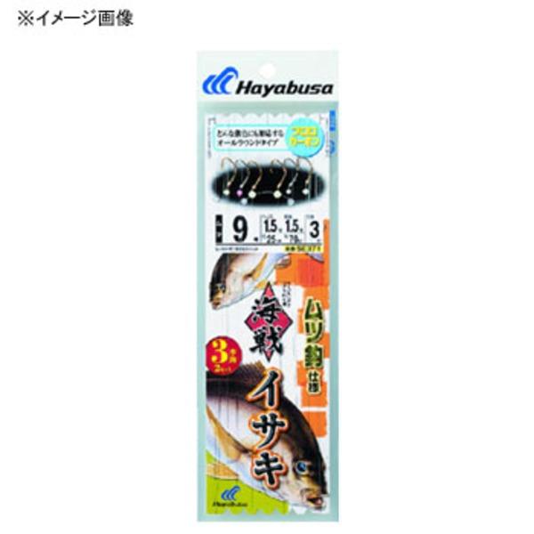 ハヤブサ(Hayabusa) 海戦イサキ ムツ針 3本針2セット SE371 仕掛け