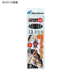 ハヤブサ(Hayabusa) 海戦イサキ エアロチヌ&ウィリー 3本針2セット SE373