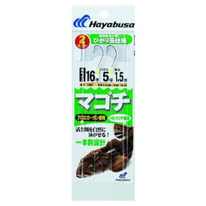 ハヤブサ(Hayabusa) マゴチ ハゼ・メゴチ餌用 2セット入 SE691 仕掛け