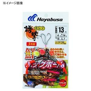ハヤブサ(Hayabusa) 誘撃カレイ 鮮艶エッグボール スネーク天秤 SE750