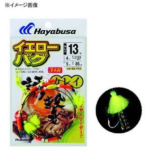 ハヤブサ(Hayabusa) 誘撃カレイ イエローバグ 3本鈎1セット SE755