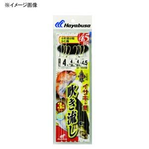 ハヤブサ(Hayabusa) 海戦吹き流し カラ鈎3本鈎 鈎5/ハリス5 金 SN130
