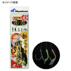 ハヤブサ(Hayabusa) 海戦吹き流し MIXスキン&カラ鈎3本鈎 SN133