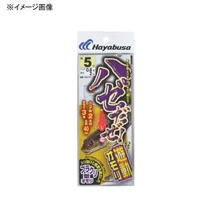 ハヤブサ(Hayabusa) ハゼだぜ 遊動オモリセット 鈎7/ハリス1 赤 HA111