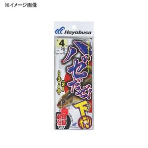 ハヤブサ(Hayabusa) ハゼだぜ 下オモリセット 鈎7/ハリス1 赤 HA112