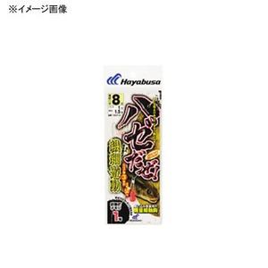 ハヤブサ(Hayabusa) ハゼだぜ 繊細遊動セット 鈎6/ハリス0.8 HA113